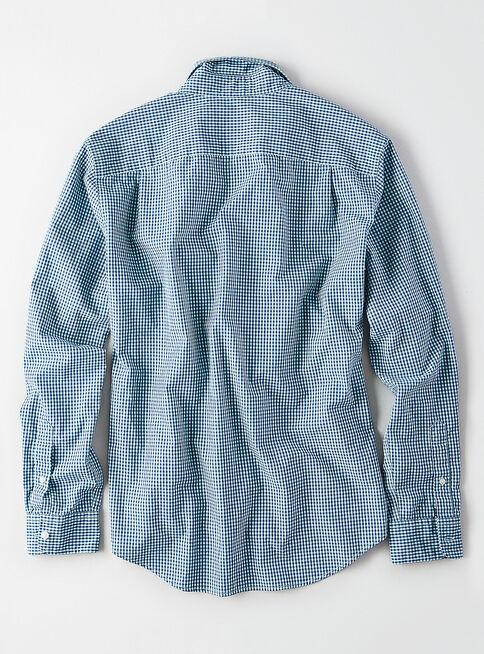 Camisa%20Manga%20Larga%20Slim%20American%20Eagle%2CRose%20Gold%2Chi-res
