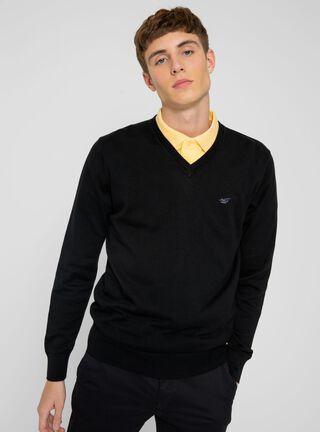 Sweater Manga Larga Bussines Ferouch,Negro,hi-res