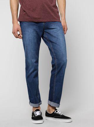 Jeans Slim Fit Denim Foster,Azul Eléctrico,hi-res