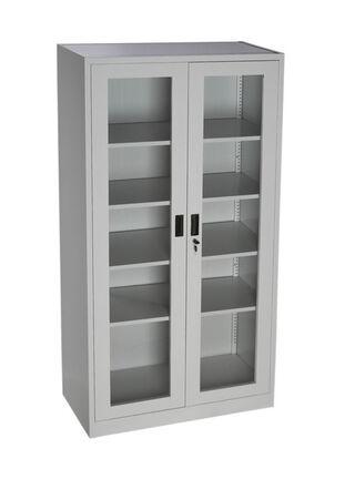 Locker Storage 2 Puertas Vidrio 90x40x180 cm Movilockers,,hi-res