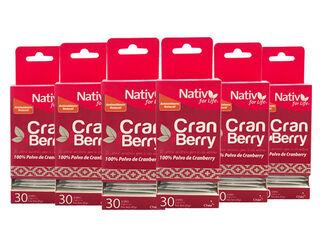 Caja 6 Unidades Cranberry Sachet Nativ For Live,,hi-res