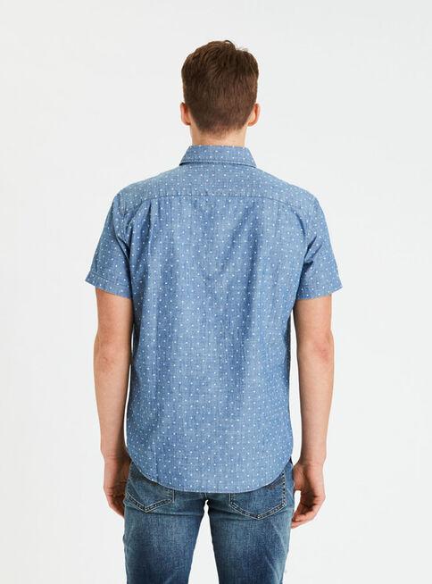 Camisa%20Print%20Manga%20Corta%20Puntos%20American%20Eagle%2CCeleste%2Chi-res