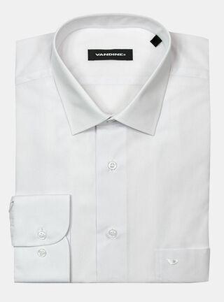 Camisa Slim Fit LM 33-34 Cuello Bolognia Vandine,Blanco,hi-res