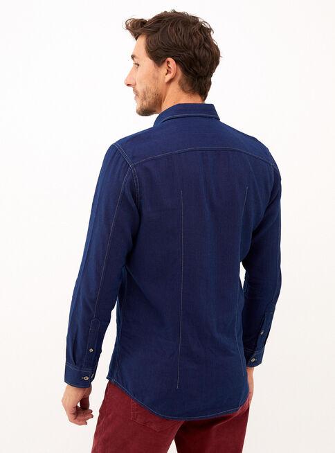 Camisa%20Denim%20Pique%20%C3%ADndigo%20Trial%C2%A0Sport%C2%A0%2CAzul%2Chi-res