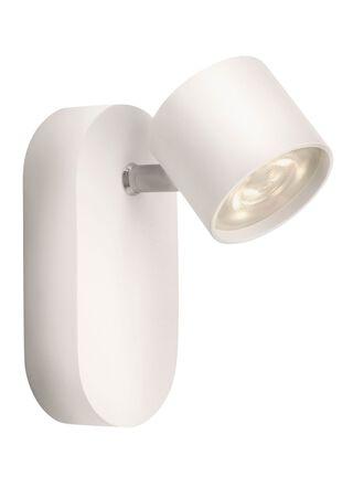 Lámpara Apliqué Star Aluminio Blanco 1 Luz 8,2 cm Signify,,hi-res