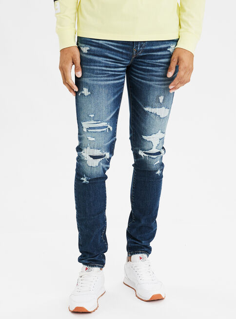 Jeans%20Skinny%20Destroyed%20American%20Eagle%2CAzul%20Petr%C3%B3leo%2Chi-res
