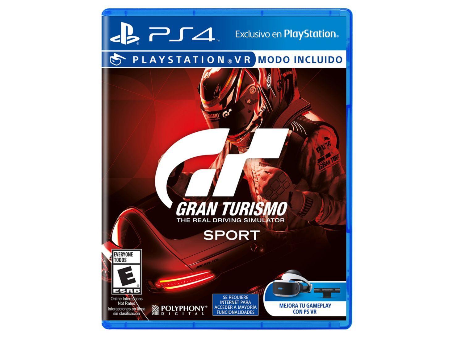 Juego Ps4 Gran Turismo Sport Juegos Ps4 Y Vr Paris