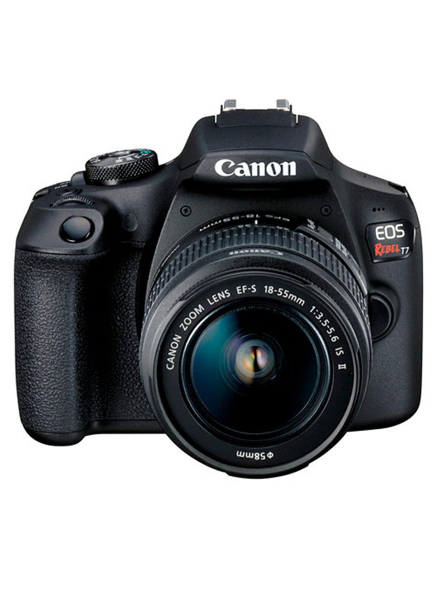 Cámara Reflex Canon T7 + Lente 18-55MM - Cámaras Réflex  3993a44b566