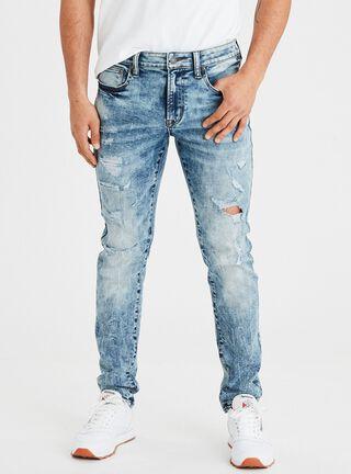 Jeans Skinny Ne(X)T Level American Eagle,Azul,hi-res