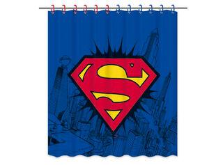 Cortina de Baño Superman 180 x 180 cm Vais,,hi-res