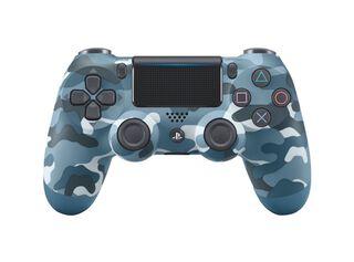 Control PS4 Dualshock 4 Militar Azul,,hi-res
