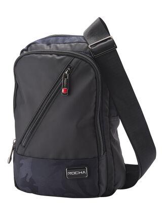 Mochila Croos Shoulder Bag Berlín Rocha,Negro,hi-res