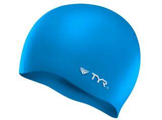 Gorra Wrinkle Free Silicone Adulto TYR,Azul,hi-res
