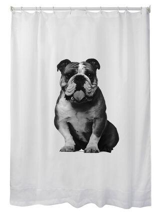 Cortina de Baño Estampada Bulldog 180 x 180 cm Mallorca,,hi-res