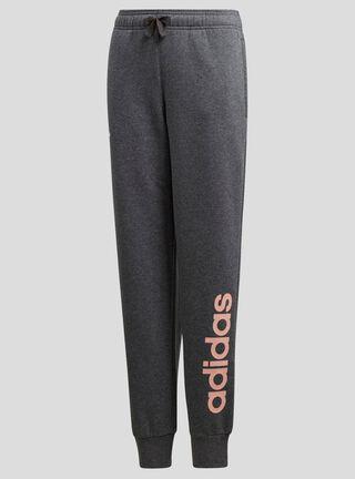 Pantalon 1/1 YG Linear Pant Adidas Niña,Gris,hi-res