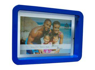Marco de Fotos Plástico Attimo 13 x 18 cm,Azul,hi-res