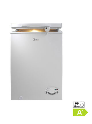 Freezer Horizontal Frio Directo Midea Up MFH-990 99 Litros,,hi-res