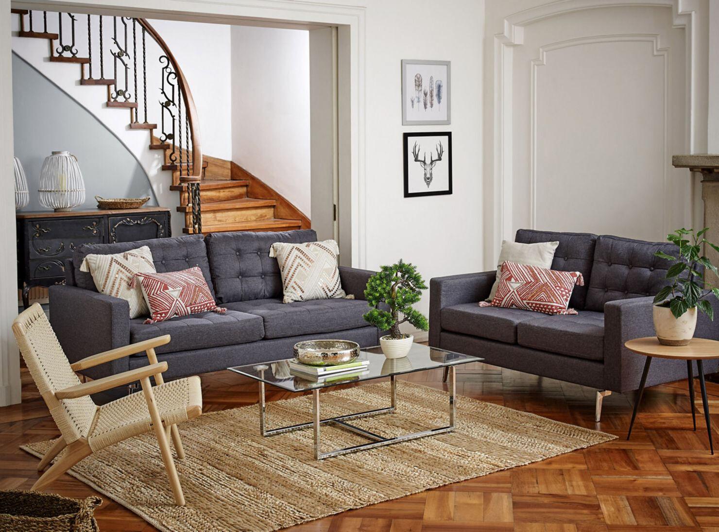Phenomenal Juego De Living Kenney Tela Sofas 3C 2C Attimo Download Free Architecture Designs Intelgarnamadebymaigaardcom