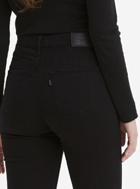 Jeans Negros Tiro Alto Mujer Levi S Jeans Y Pantalones Paris Cl