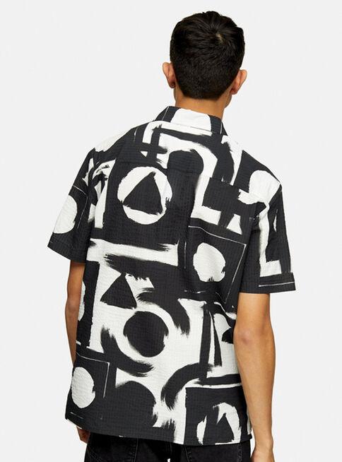 Camisa%20Negra%20y%20Blanca%20Abstract%20Slim%20Fit%20Topman%2C%C3%9Anico%20Color%2Chi-res