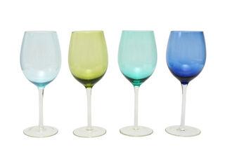 Set 4 Copas Vino Azules Attimo 490 ml,,hi-res