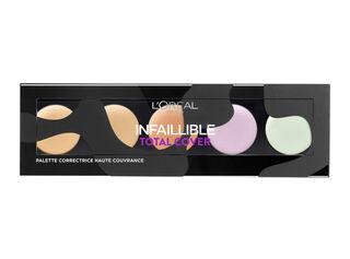 Paleta Correctora Rostro Infalible Total Cover Concelear L'Oréal,,hi-res