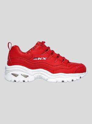 zapatillas skechers mujer ultima coleccion roja 018