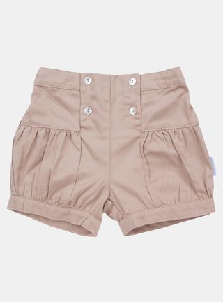 Short Lucky Baby Bombacho Girl,Beige,hi-res