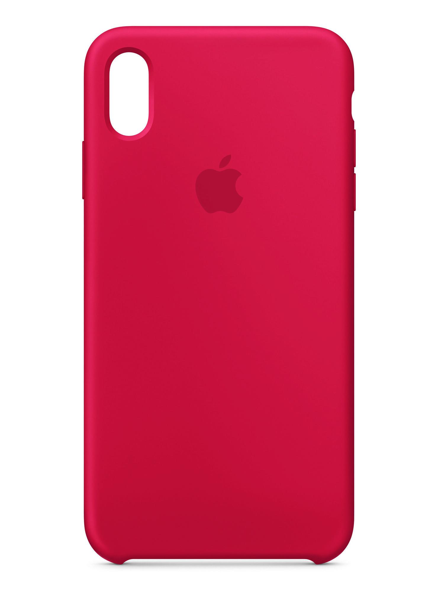 a51fdde7240 Carcasa Silicona Roja para iPhone XS Max Apple en Accesorios de ...
