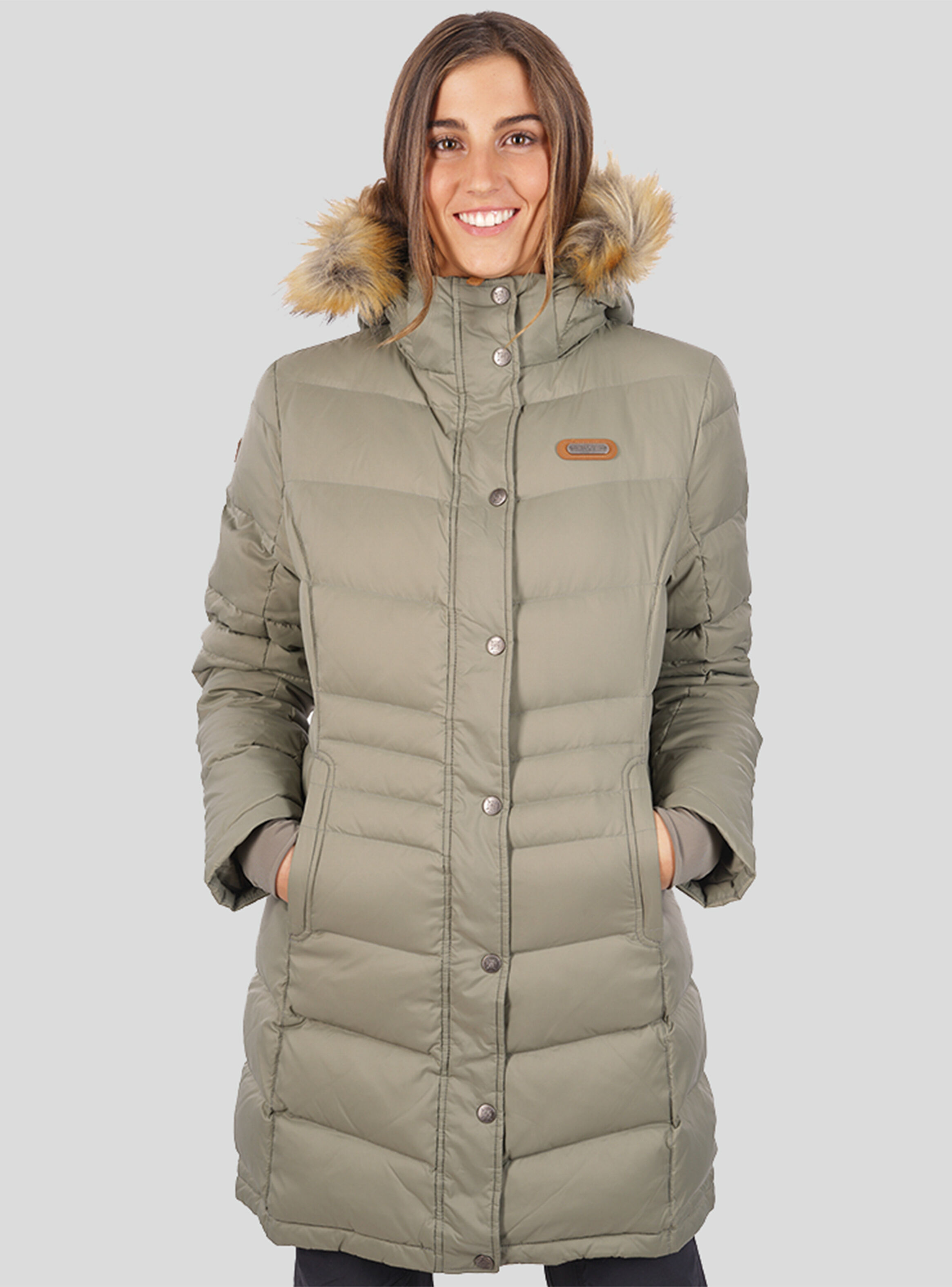 Lippi Mujer Lon Parka Quilca M Down PknO8w0X