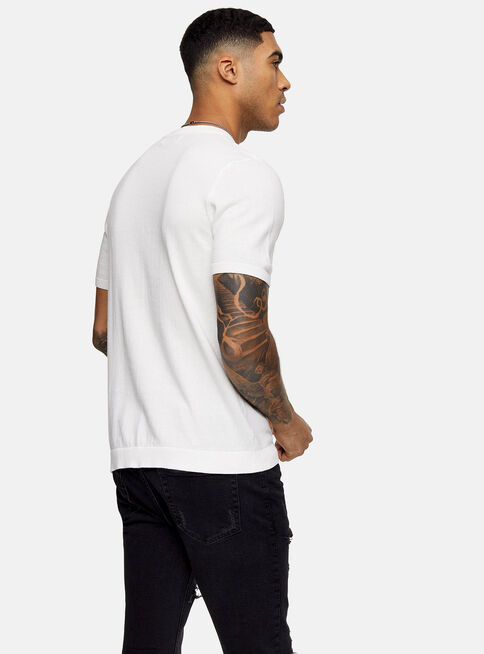 Polera%20Blanca%20Stitch%20Knitted%20Topman%2C%C3%9Anico%20Color%2Chi-res