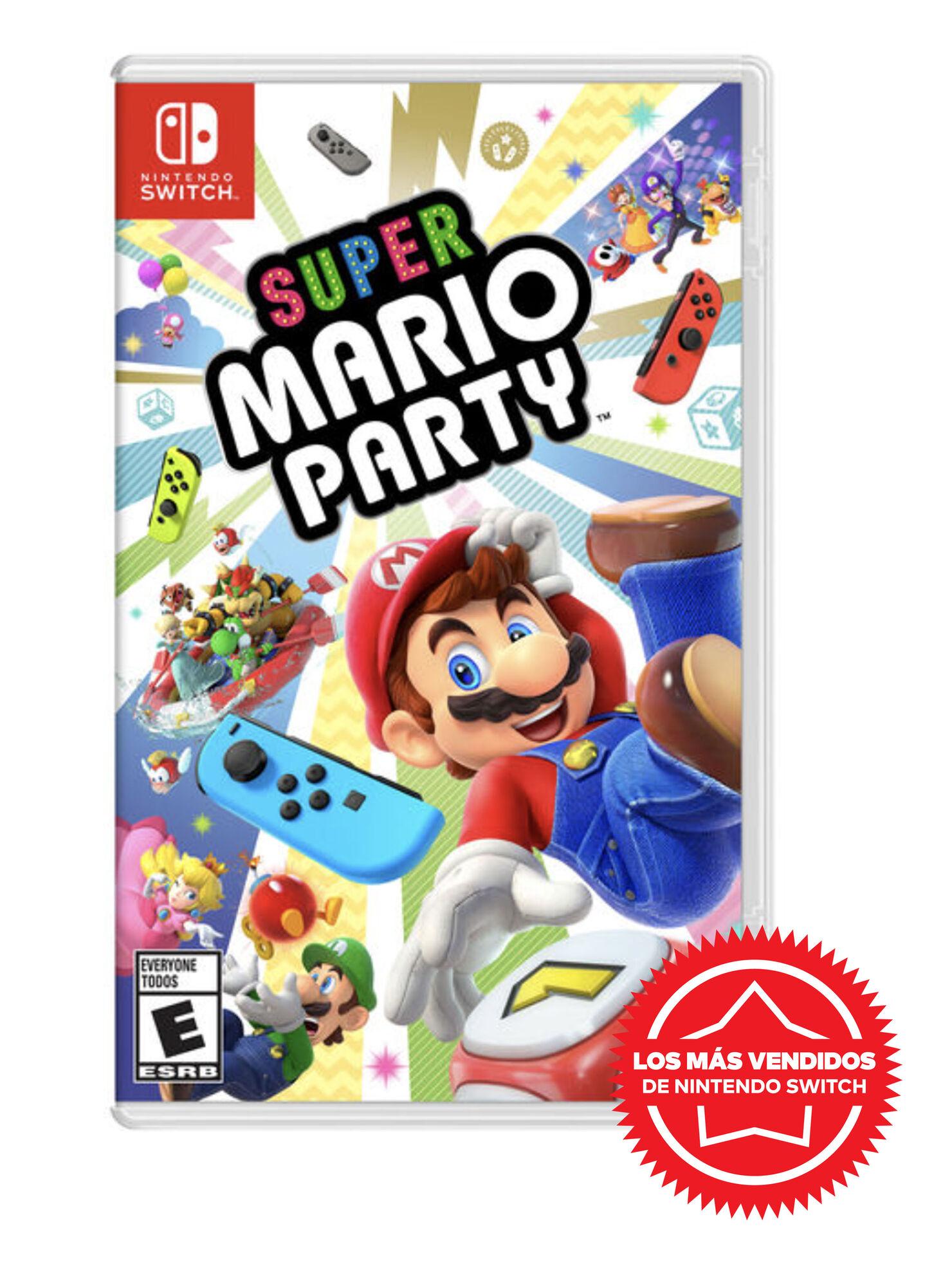 Juego Nintendo Switch Super Mario Party - Videojuegos   Paris.cl