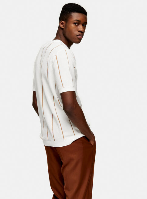 Polera%20Blanca%20Stitch%20Stripe%20Knitted%20Topman%2C%C3%9Anico%20Color%2Chi-res