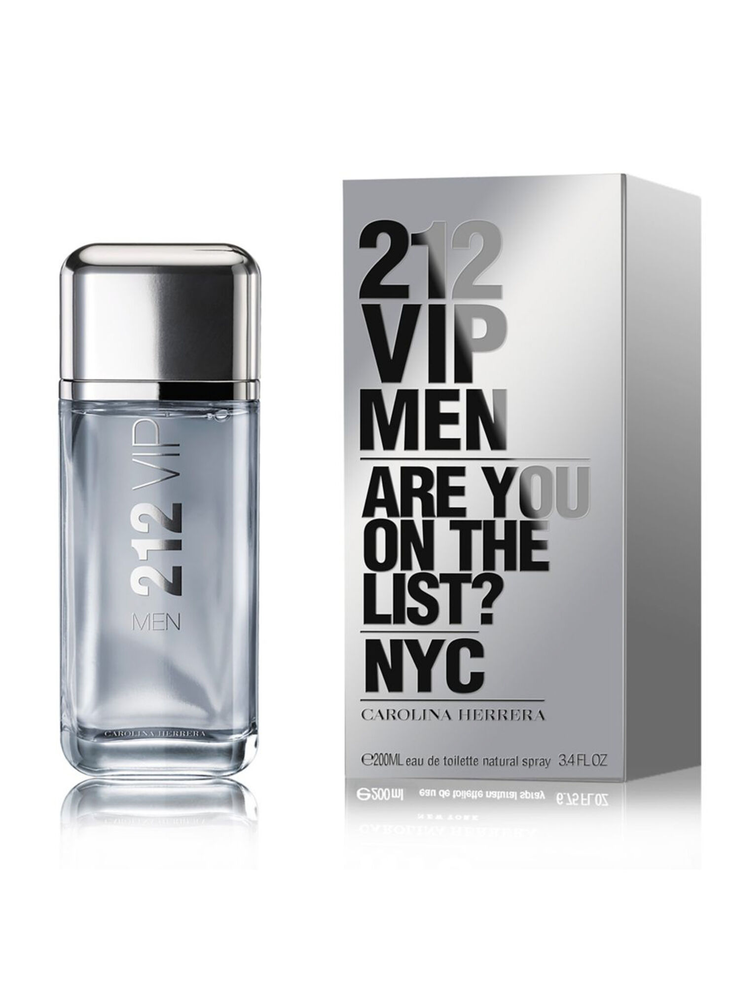 Perfume Carolina Herrera 212 Vip Men EDT 200 ml - Perfumes Hombre ... 067623248c9e
