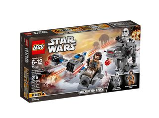 Juego Ultimos Jedi Speeder vs Caminante Star Wars Lego,,hi-res