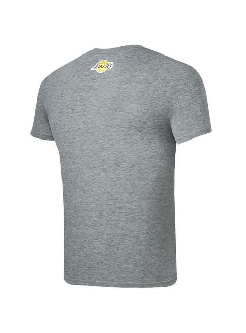Polera%20Estampada%20Lakers%20Manga%20Corta%20NBA%2CGris%20Perla%2Chi-res
