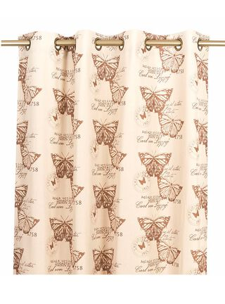 Cortina Chantilly 140x230 Lino Mariposa,,hi-res