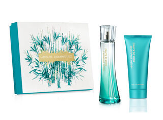 Set Adolfo Domínguez Bambu Aqua Woman 100 ml + Body EDT,,hi-res