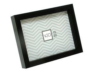 Marco de Fotod Plástico Box Attimo 10 x 15 cm,Negro,hi-res