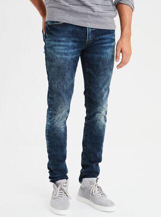 Jeans Super Skinny Ne(X)T Level American Eagle,Azul Petróleo,hi-res