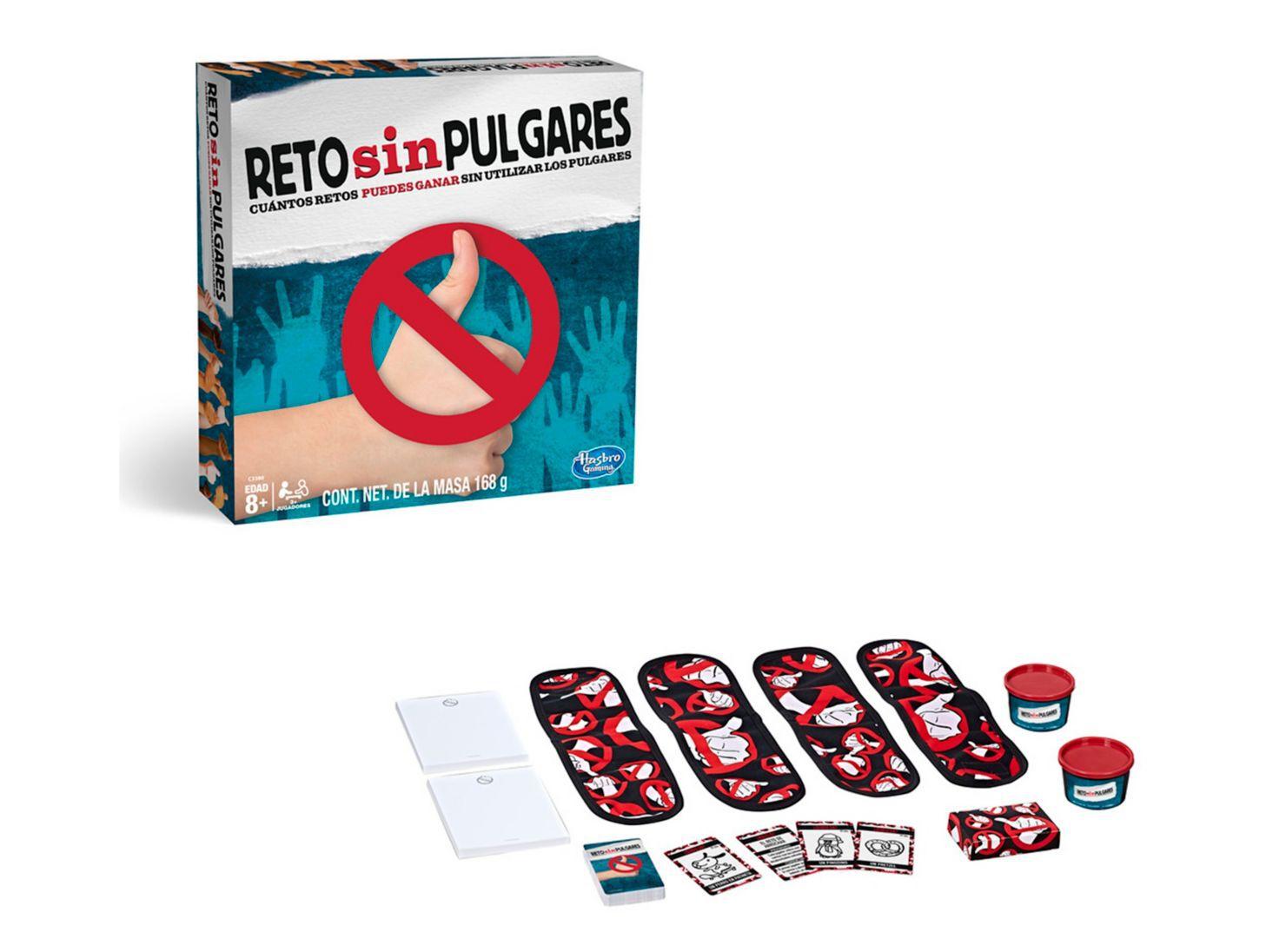 Juego Reto Sin Pulgares Hasbro Gaming Juegos De Salon Paris