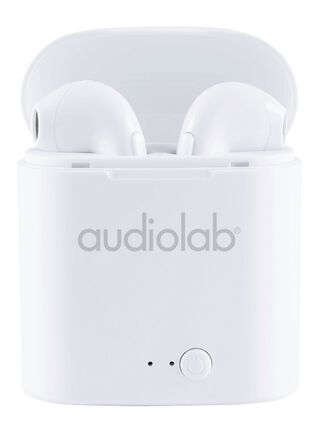 Audifonos Audio Lab Ear Pod TWS Bluetooth Blanco,,hi-res