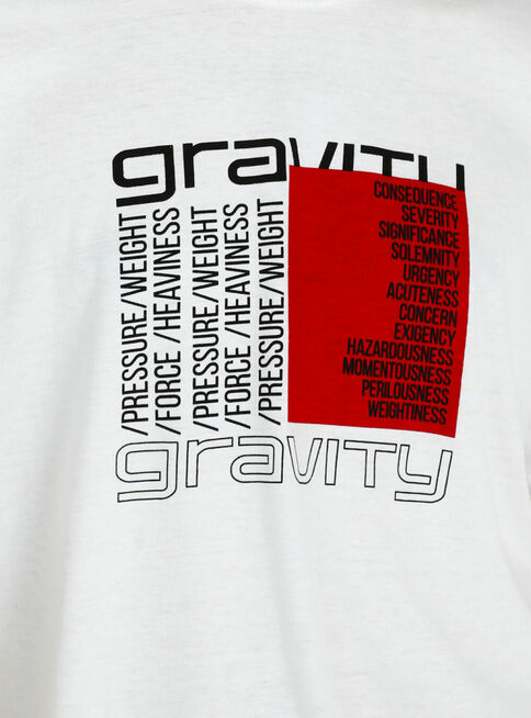 Polera%20Estampada%20Crew%20Neck%20Gravity%2CBlanco%2Chi-res