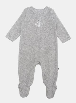 Pijama Opaline Bordado Niño,Ceniza,hi-res