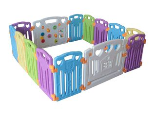 Corral plástico para Bebé 122C Attimo Kids,,hi-res