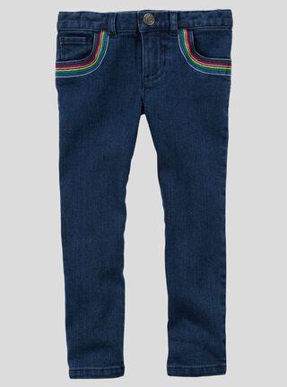 Pantalón Niña 4 A 8 Años Carter's,Azul,hi-res