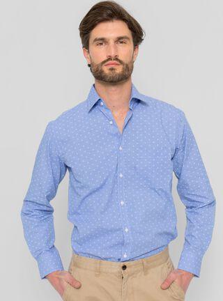 Camisa Cuadros Print Arrow,Azul,hi-res