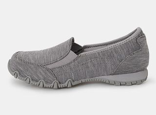 Zapato Skechers Bikers Lounger Loafer CCL Casual Mujer,Gris,hi-res