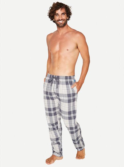 Pijama%20Pantal%C3%B3n%20Largo%20Algod%C3%B3n%20Mota%2CGris%2Chi-res