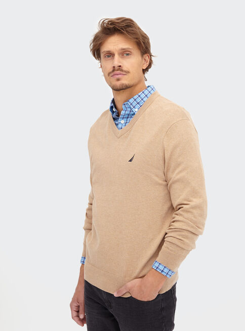 Sweater%20S%C3%B3lido%20Cuello%20V%20Nautica%2CCanela%2Chi-res